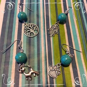 Jewelry - ⬇️5/$20⬇️ Turquoise Inspired Earrings